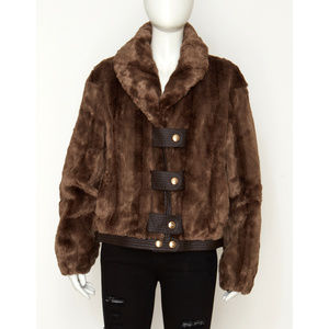 NWT Juicy Couture Faux Fur Jacket